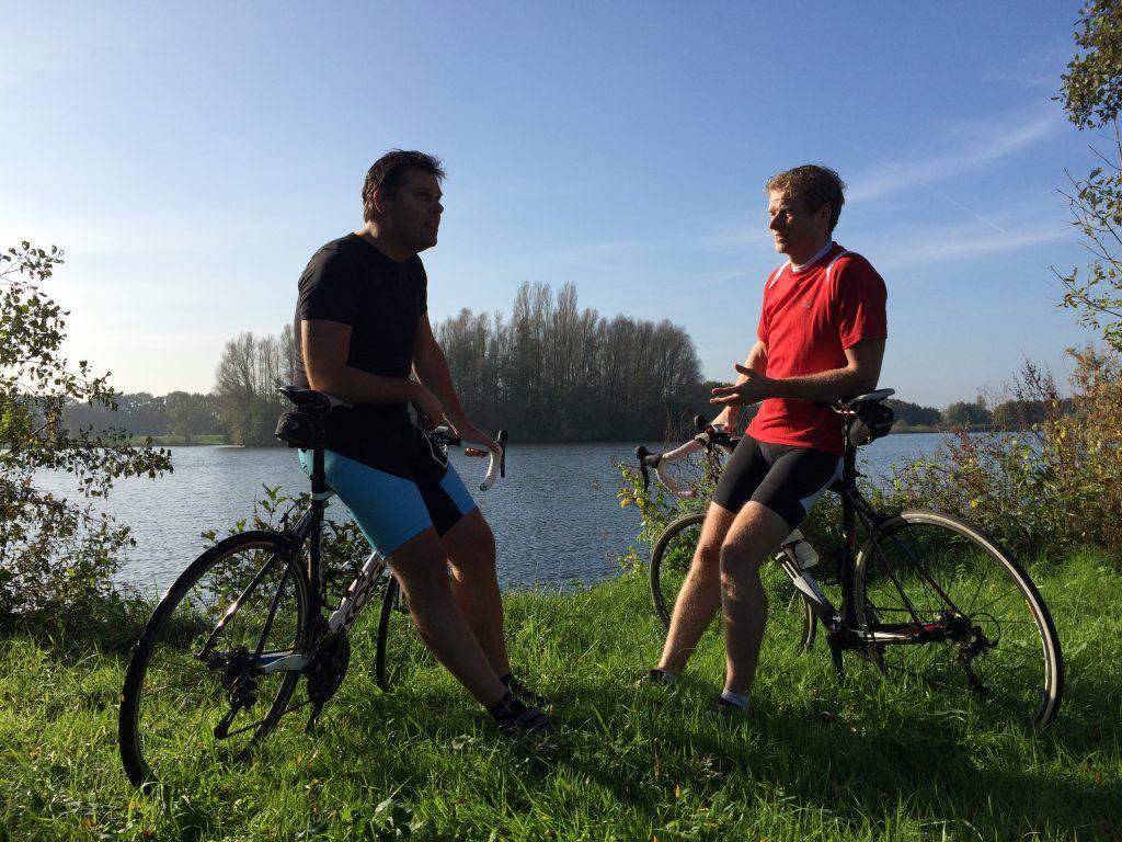 Persoonlijke coaching op de fiets