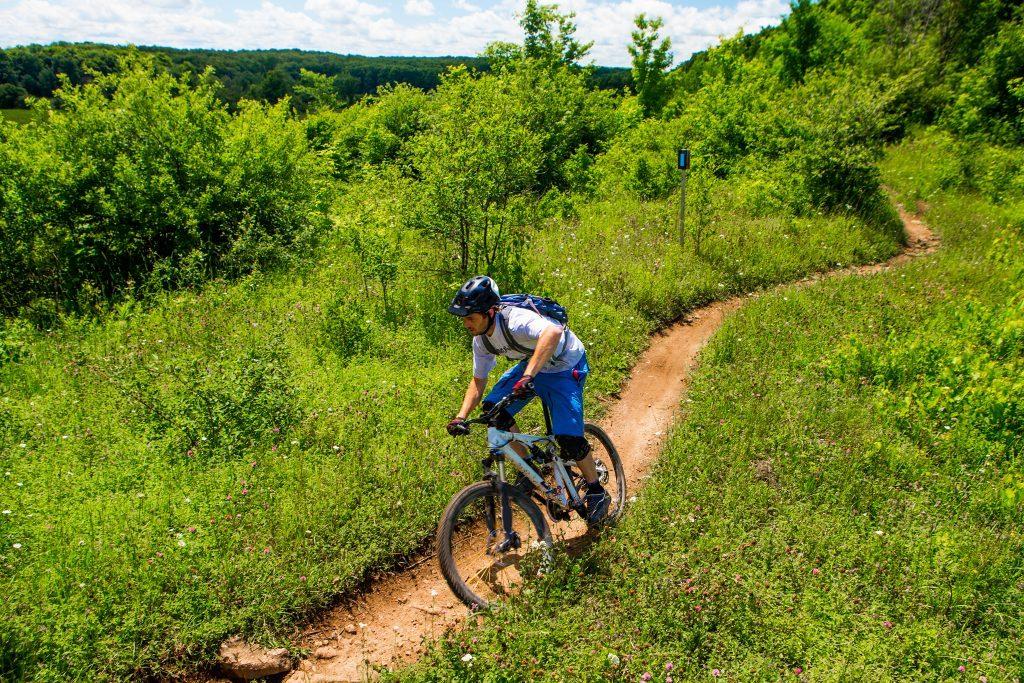 Mountainbiken in het Ketelwald